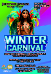 Winter Carnival (The Biggest Afro Caribbean Party) in Bristol
