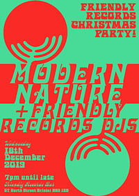 Friendly Records Christmas Party w/ Modern Nature  in Bristol