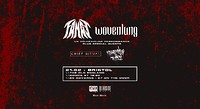 Fangs / Wovenlung + Supports in Bristol