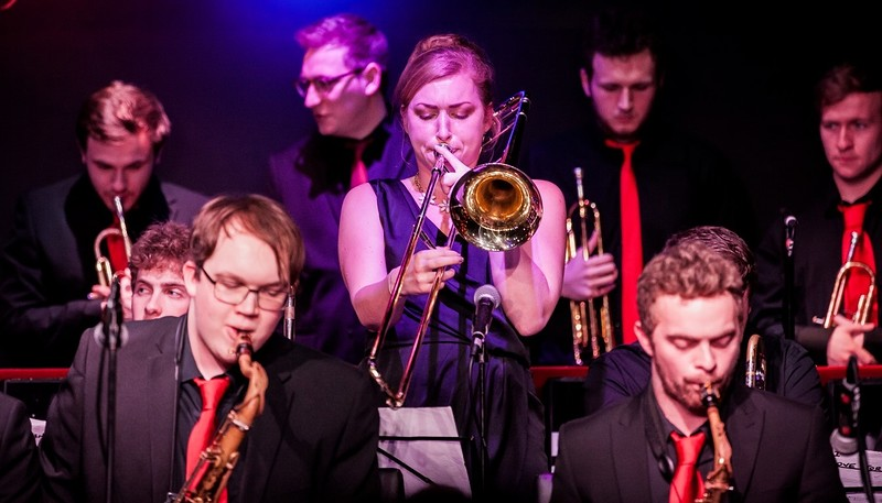The National Youth Jazz Orchestra in Bristol 2020