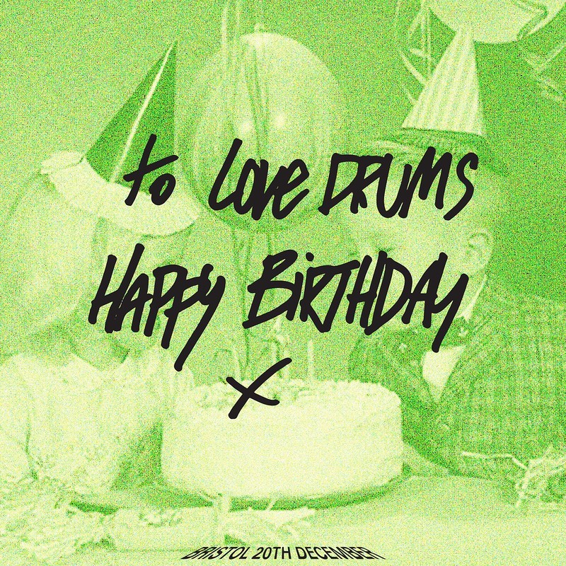 Love Drums 2nd Birthday at The Loco Klub
