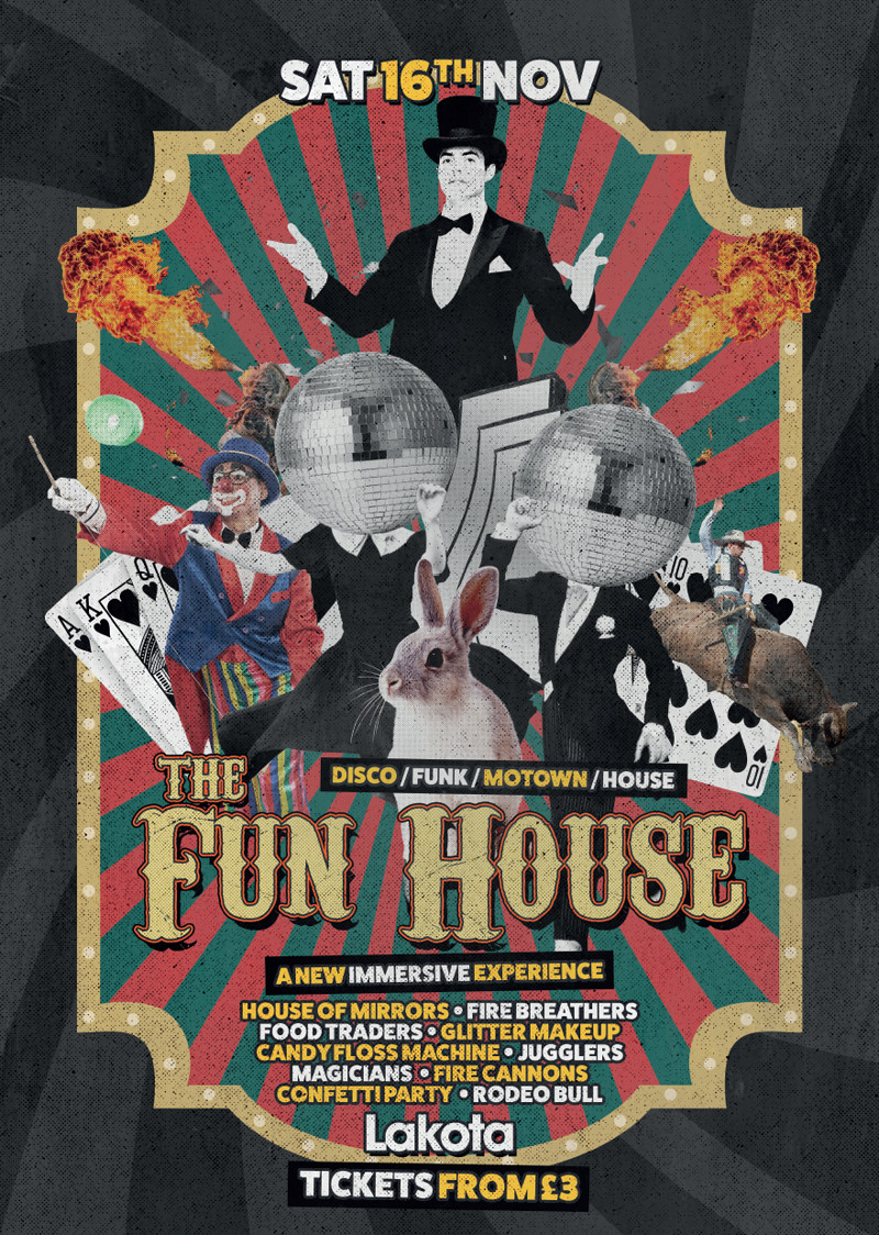 Lakota Presents: The Fun House! in Bristol 2019