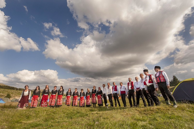 London Bulgarian Choir, workshop and concert in Bristol 2020