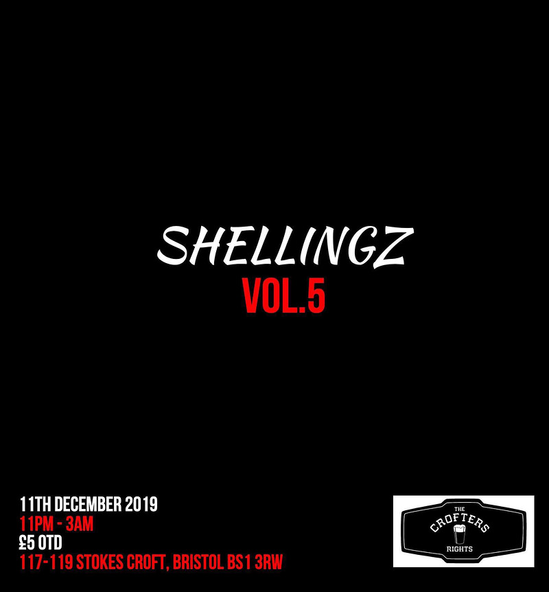 Shellingz Vol 5. in Bristol 2019