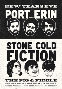 NYE: Port Erin + Stone Cold Fiction in Bristol