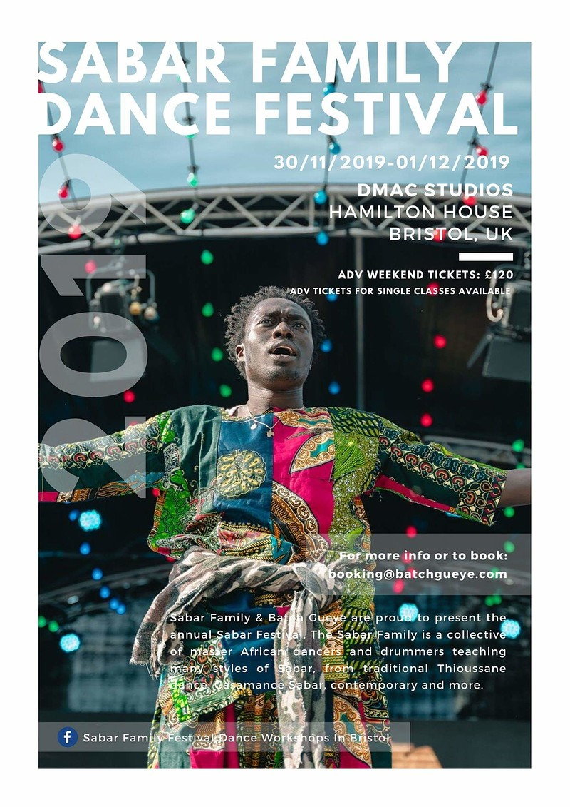 Sabar dance spectacular in Bristol 2019