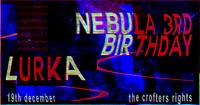 Nebula 3rd Birthday in Bristol