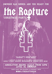 ✞ The Rapture - Christmas Party @Level III ✞ in Bristol