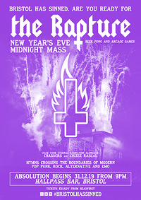 ✞ The Rapture - NYE Midnight Mass ✞ in Bristol