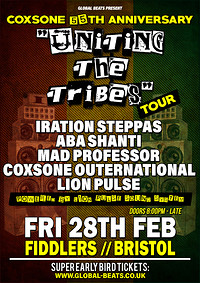 "Coxsone's 55th Anniversary - ""Uniting The Tribes""  in Bristol"