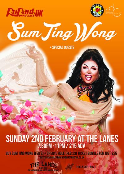 SUM TING WONG (RU PAUL'S DRAG RACE UK) tickets