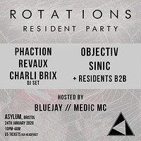 Rotations: Resident Party in Bristol