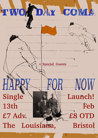 Two Day Coma 'Happy for Now' Single Launch in Bristol