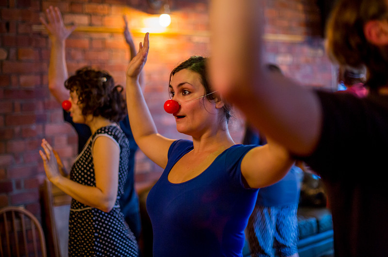 Holly Stoppit's Introduction to Clowning: February in Bristol 2020