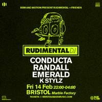 Rudimental + Friends  in Bristol
