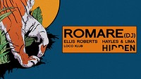 Hidden | Romare (Rescheduled due to COV-19) in Bristol