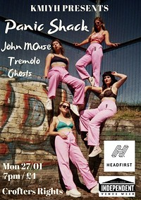 Panic Shack / John MOuse (solo) and Tremolo Ghosts in Bristol