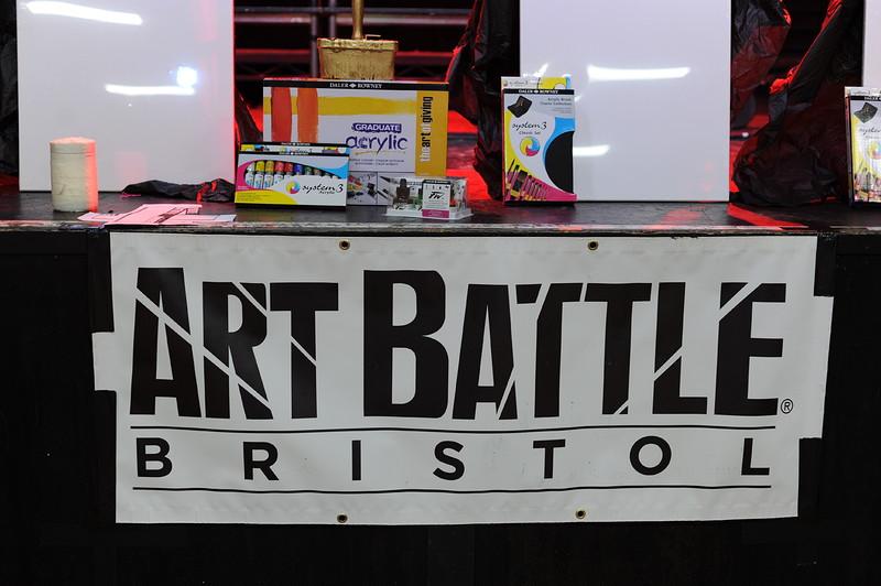 Art Battle February at The Fleece