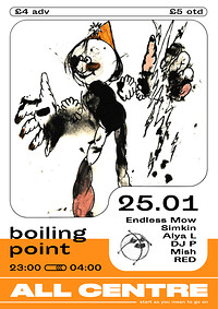Boiling Point x All Centre Showcase in Bristol