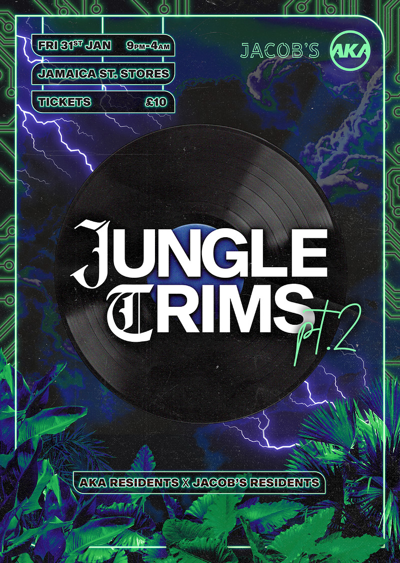 AKA x Jacob's present. 'Jungle Trims pt.2' at Jamaica Street Stores