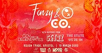 Fonzy and Company + Support  in Bristol