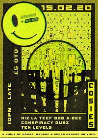 Riz La Teef b2b A-Bee + more [All vinyl Garage] in Bristol