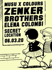 Musu x Colours w/ Zenker Brothers & Elena Colombi in Bristol
