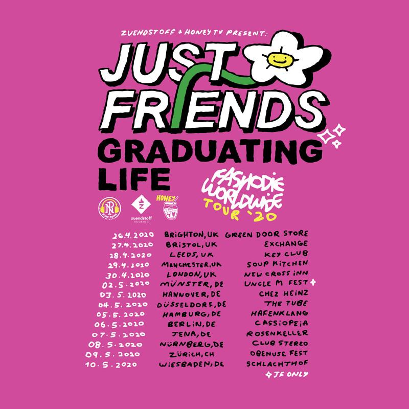 Just Friends / Graduating Life in Bristol 2020