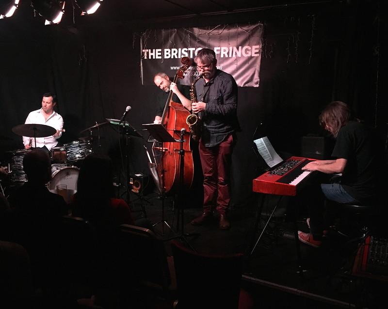 KEVIN FIGES QUARTET at Fringe Jazz