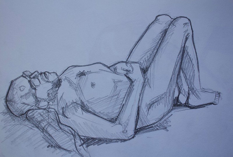 Bristol Life Drawing at HOURS Space at HOURS Space