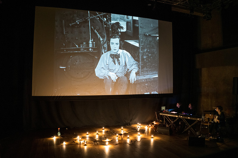 Haiku Salut present The Buster Keaton Picture Show in Bristol 2020