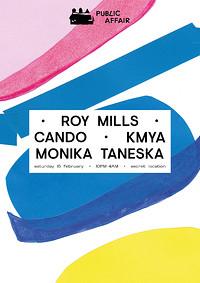 Public Affair #2: Roy Mills, Cando, Kmya in Bristol
