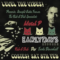 Level the Vibes Pres. Mistah P (Earlydays Records) in Bristol