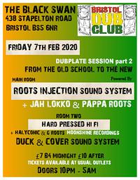 Bristol Dub Club: Dubplate Session in Bristol