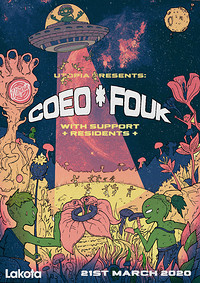 Utopia Presents: Coeo & Fouk in Bristol