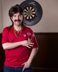 Jody Kamali is Mike Daly: Darts and All in Bristol