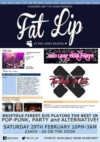 ★ FAT LIP ★ Emo Leap Year Party!  in Bristol