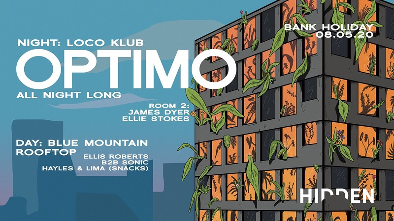 Hidden | Optimo All Night Long | Day & Night Event in Bristol 2020