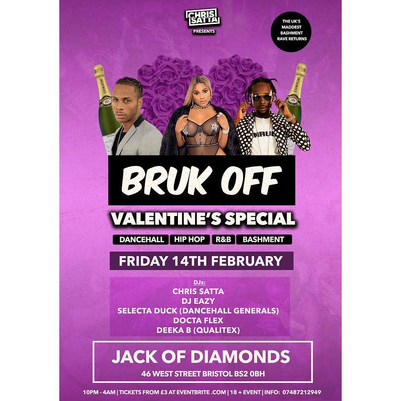 Bruk Off - Bashment Party at Jack Of Diamonds