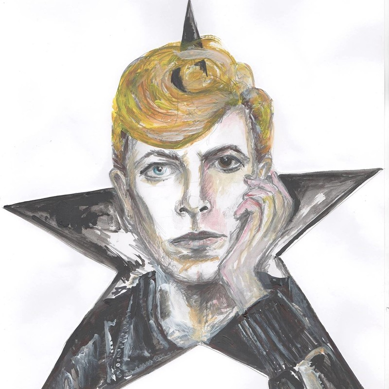 The Genius of David Bowie playing Scary Monsters at Cloak and Dagger