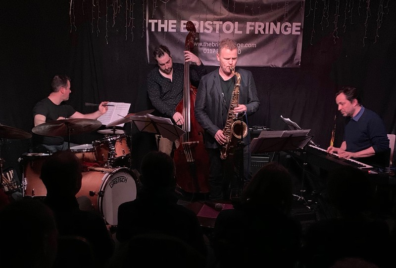 IAIN BALLAMY QUARTET feat. JASON REBELLO  at Fringe Jazz