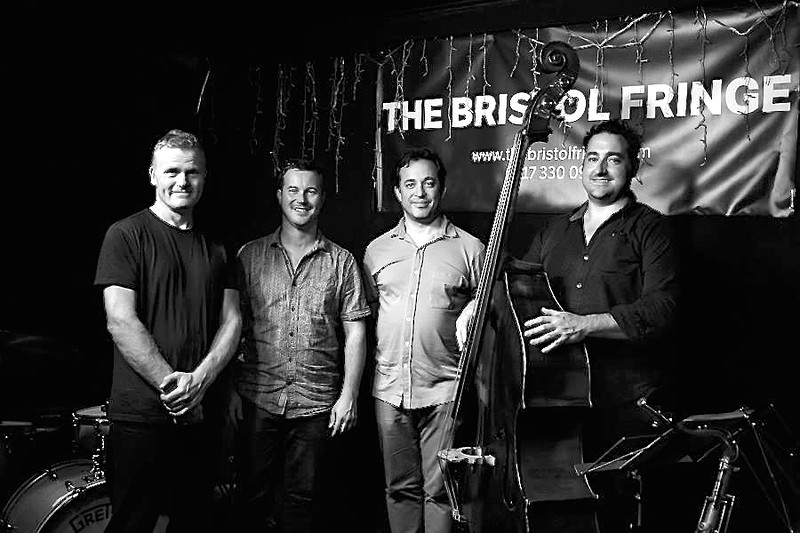 IAIN BALLAMY QUARTET feat. JASON REBELLO  in Bristol 2020