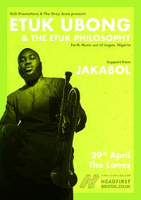 Etuk Ubong & The Etuk Philosophy (Nigeria) in Bristol