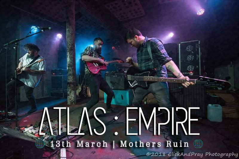POLYGAZE Presents Atlas : Empire + SUPPORT at The Mothers Ruin
