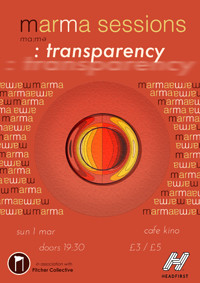 Marma Sessions: Transparency in Bristol