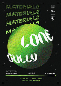 Materials: Lone & Sully  in Bristol