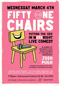 51 Chairs, LIVE COMEDY  in Bristol