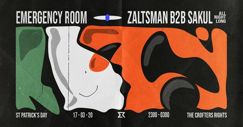 ER: Zaltsman B2B Sakul (All Night Long) in Bristol 2020