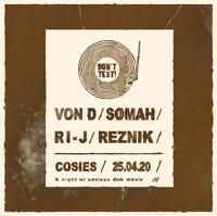 Don't Test! : Von D, Somah, RI-J & Reznik in Bristol