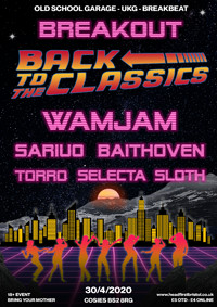 BREAKOUT - Back To The Classics  in Bristol